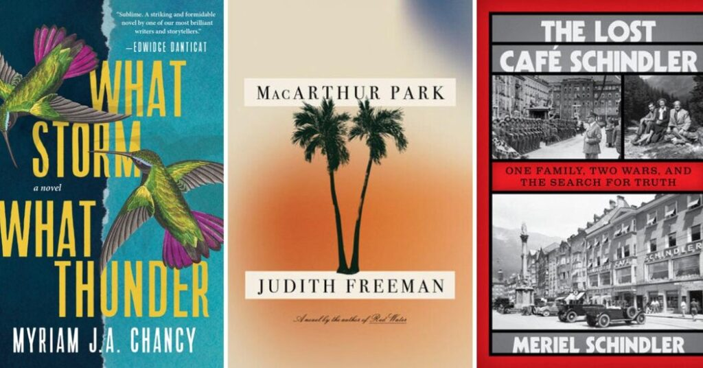 Newly Published, from a Haitian Earthquake to MacArthur Park