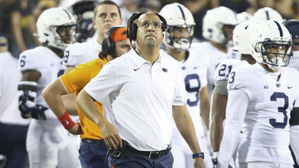 Penn State's James Franklin fires back at Iowa over injury-timeout drama: 'Is that good for college football?'